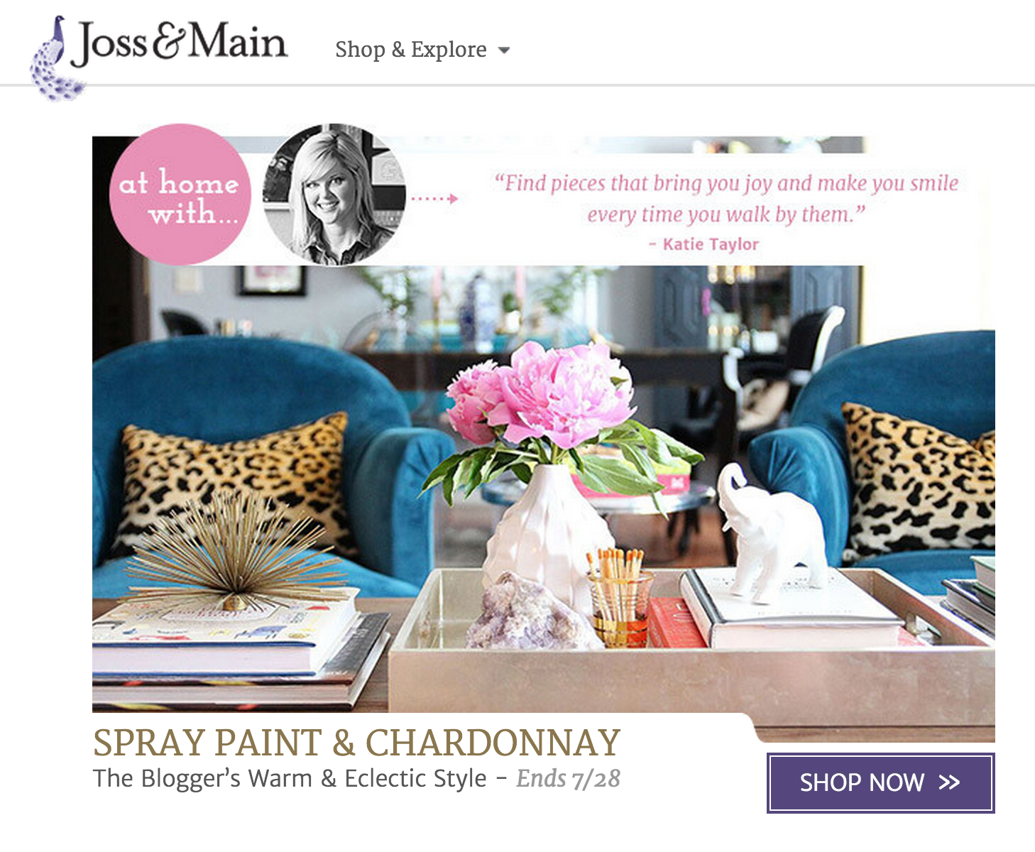 home decor websites like joss and main joss amp spray paint amp chardonnay 13614