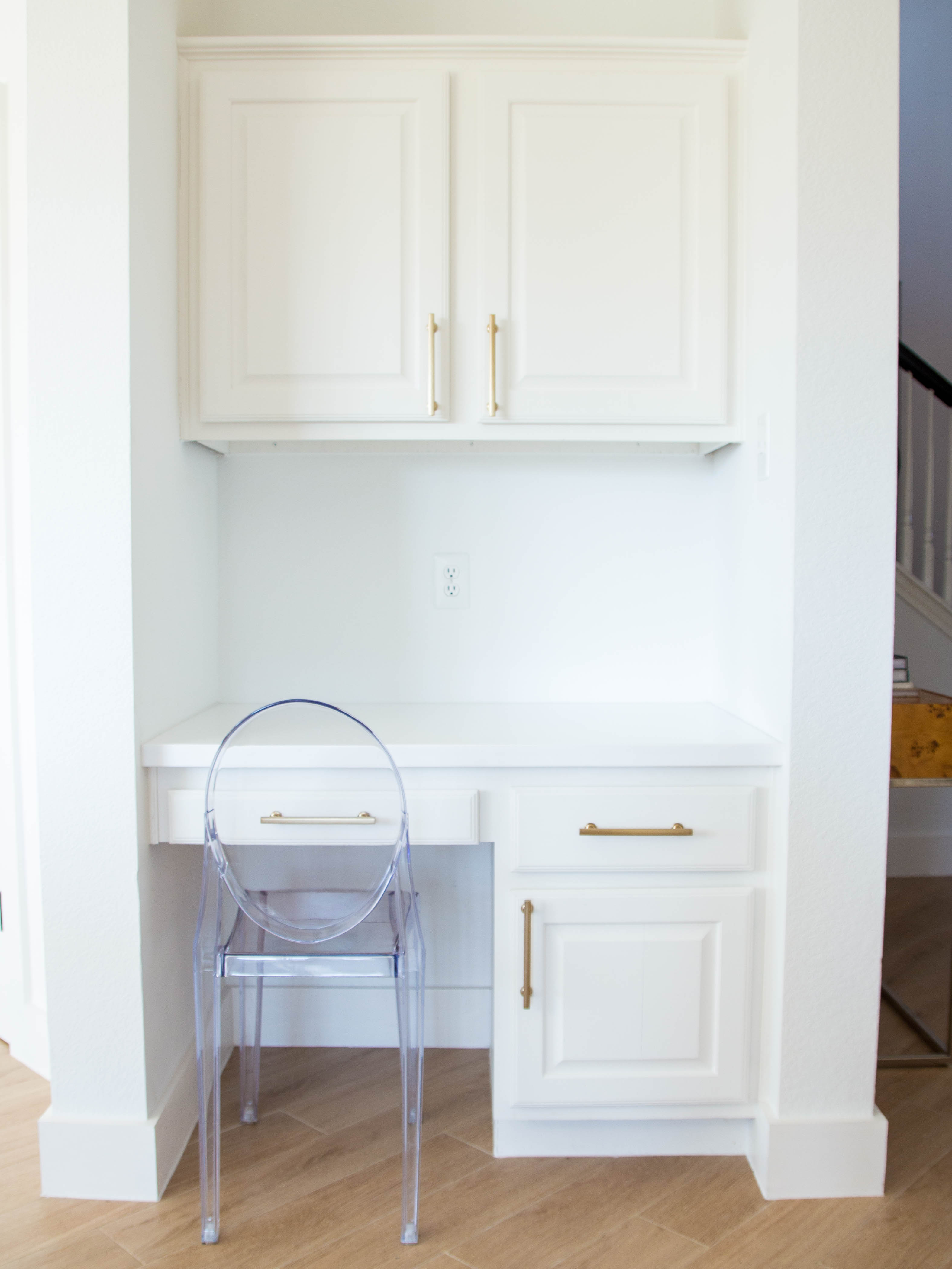 Initially, I Wanted To Turn This Space Into A Little Bar Areau2014wine Fridge  And Allu2014but Then Realized How Useful The Space Could Actually Be, So I Kept  It As ...
